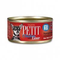 КОНСЕРВЫ ДЛЯ СОБАК BRIT Petit k 80 g курица и печень