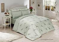 Постельное белье Le Vele 100% бамбуковое волокно Los Angeles Green