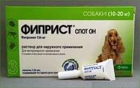 КРКА Фиприст спот-он 10-20кг, 1 пипетка