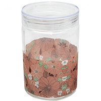 Ёмкость для сыпучих продуктов 1,4л Арт нуво (3шт в упаковке)