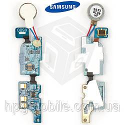 Шлейф для Samsung Galaxy SL i9003, микрофона, с компонентами, с вибро, оригинал