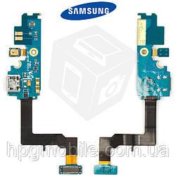 Шлейф для Samsung Galaxy S2 i9100, коннектора зарядки, микрофона, с компонентами, rev 2.3, оригинал