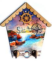 "Ключница домик ""Скалы у моря"""