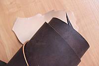Кожа натуральная ременная коричневого цвета арт. СК 1638