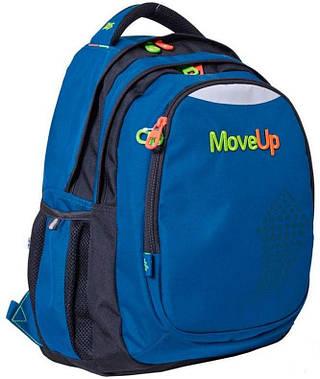 """Вместительный подростковый рюкзак 30 л. Т-22 """"Move Up"""" YES! 552626 синий"""