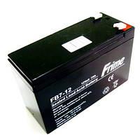 Для эхолотов аккумуляторная батарея  FRIME FB7-12AGM, АКБ 12В-7Ач для бесперебойного питания в Украине