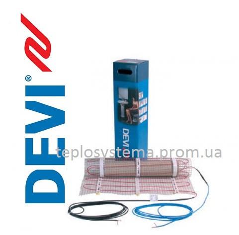 Теплый пол - Мат нагревательный одножильный  DEVIheat 150S (DSVF-150) 965 / 1050 Вт ― 7,0 м2, DEVI Дания