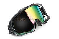 Кроссовые очки  KML Black