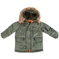 Детская Аляска куртка зимняя YOUTH N-3B Альфа Индастриз парка