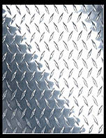 Листы алюминий чечевица 0,5х1200х2000 мм