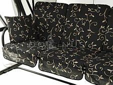 Садовая качеля Dominus, москитная сетка, 4 человека, фото 3