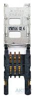 (Коннектор) Aksline Разъем SIM-карты Nokia N91 / 5700 / E50 / N90