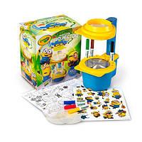 Набор для творчества Проектор Crayola. Миньоны (Crayola Minions Sketcher Projector)