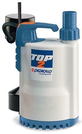 Погружные дренажные насосы PEDROLLO модель TOP-GM для чистой воды версия с магнитным поплавком
