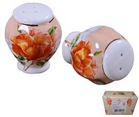 Набор для соли и перца Китайская роза