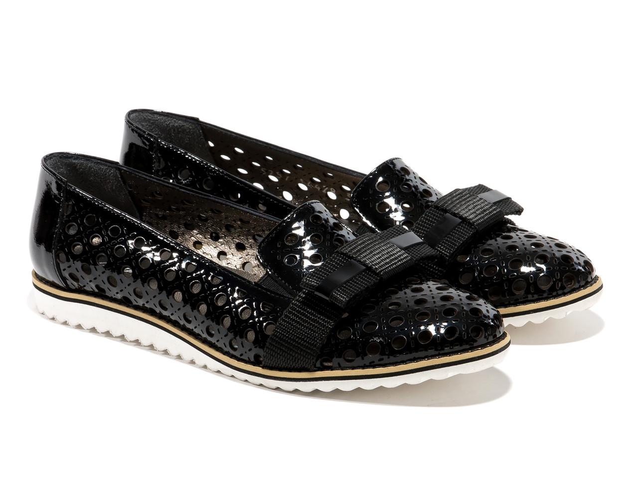 Туфлі Etor 5257-525 41 чорні