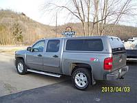 Кунг LEER 100XR для Silverado 2007- 2013