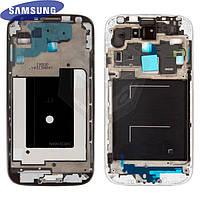 Рамка крепления дисплея для Samsung Galaxy S4 i9500, черная, оригинал