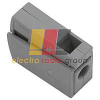 Клема д/підключення освітл приладів, на 1 провод 1,0-2,5мм2, без пасти