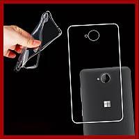 Ультратонкий 0,3 мм чехол для Microsoft Lumia 650 прозрачный