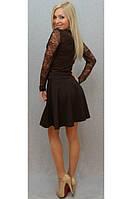 Платье с гипюром , фото 1