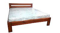 Кровать полуторная деревянная Марсель