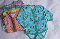 Бодик - вышиванка, длинный рукав, Украина/ купить детский боди дешево оптом со склада 7км