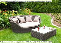 Диван Портофино Роял коричн, софа, мебель для дома, мебель для сада, мебель для ресторана, мебель для бассейна