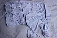 Человечек + чепчик, на младенца, Украина/ купить одежду на младенца дешево оптом со склада 7км