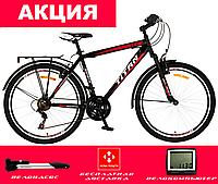 "Велосипед городской Titan SONATA 26"" (Black-Red-White), фото 1"