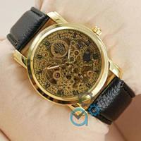 Rolex Black/Gold/Gold