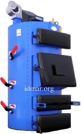 Твердотопливный котел Идмар СіС-17 кВт длительного горения (idmar SiS)