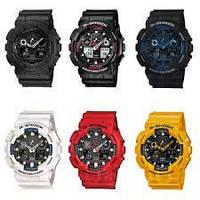 Спортивные часы в стиле G-SHOCK 100, ударопрочные наручные часы, часы наручные унисекс, водонепроницаемые часы