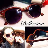 Женские стильные солнцезащитные очки с позолоченной оправой w-431697