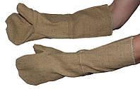 Рукавицы брезентовые с ОП  35см с крагами