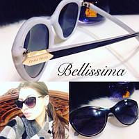 Черно-белые женские стильные солнцезащитные очки y-4316101