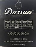 Шкарпетки чоловічі без шва Dursun світло-сірі, фото 5