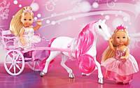 Кукольный набор Steffi и Evi романтический экипаж  5736646