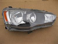 Фара передняя Mitsubishi Lancer X левая