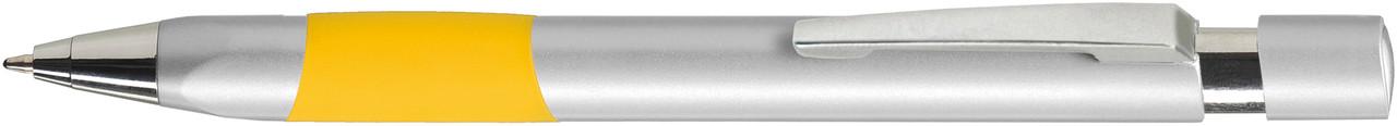 Ручка пластиковая VIVA PENS Eve Silver серебристо-желтая