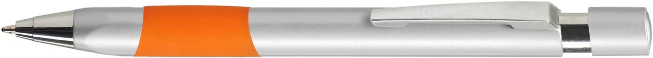 Ручка пластиковая VIVA PENS Eve Silver серебристо-оранжевая