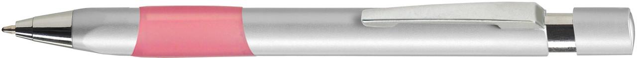 Ручка пластиковая VIVA PENS Eve Silver серебристо-розовая