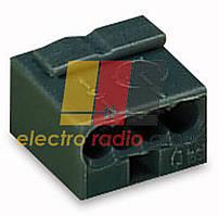 Мікро-клема для розподіл.коробок,4-контактн,т.-сіра