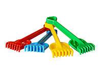 Іграшка Лопатка+грабельки Гулівер Технок 1424