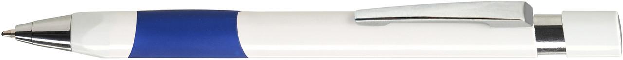 Ручка пластиковая VIVA PENS Eve White бело-синяя