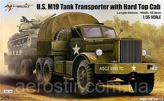 U.A. V19 Tank Transporter with Hard Top Cad       1\35     MERIT 63501