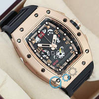 Richard Mille RM011-FM Black/Gold/Black-Gold AAA