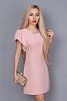 Платье мод. 239-5,размер 46 абрикос