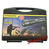 Фонарь Nitecore MT25 HUNTING KIT Black