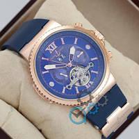 Ulysse Nardin Maxi Marine Chronometer 0009 Gold \ Blue